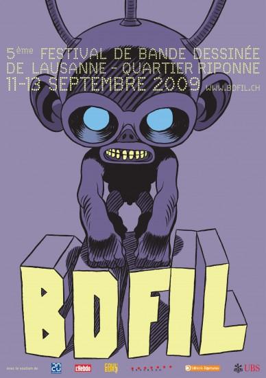 BD-FIL_Affiche_2009_AL