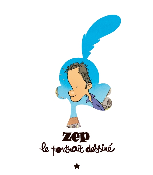 Zep, le portrait dessiné