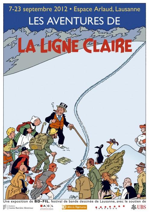 BD-FIL_Affiche_Ligne_Claire_2012_AL